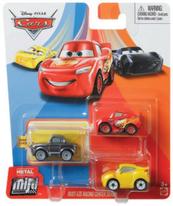 Cars Mikroauta 3-pak GKG01 p6 MATTEL mix