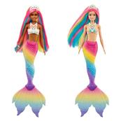 Barbie Lalka Dreamtopia Syrenka tęczowa GTF90 MATTEL