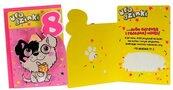 Karnet B6 DK-800 Urodziny 8 piesek