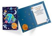 Karnet PR-330 Urodziny 7 chłopiec