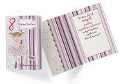 Karnet PR-331 Urodziny 8 dziewczynka