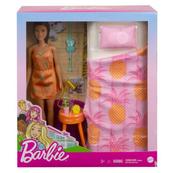 Barbie Lalka z sypialnią GRG86 GTD87 MATTEL