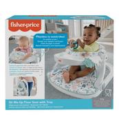 """Fisher-Price Baby Gear Fotelik-siedzisko """"Siadaj ze mną"""" z blacikiem pastelowy HBD68 p2 MATTEL"""