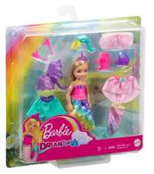 Barbie Chelsea Przebieranki lalka + ubranka GTF40 MATTEL