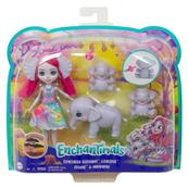 Enchantimals Lalka Esmeralda i rodzina słoników Graceful GTM30 MATTEL