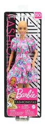Barbie Lalka Fashionistas 150 Modna przyjaciółka bez włosów GYB03 FBR37 MATTEL p6