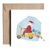 Karnet kw Santa on Vespa ES11