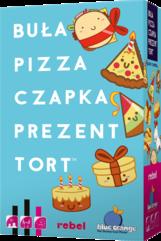 Buła, Pizza, Czapka, Prezent, Tort (gra karciana)