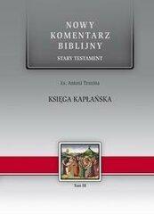 Nowy komentarz... ST T. 3 Księga Kapłańska