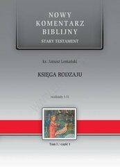 Nowy Komentarz Biblijny Tom I cz.I Księga rodzaju
