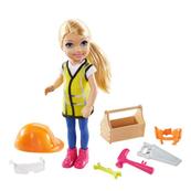 Barbie Lalka Chelsea Kariera Majsterkowiczka GTN87 GTN86 MATTEL