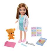 Barbie Lalka Chelsea Kariera Lekarka GTN88 GTN86 MATTEL