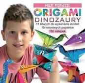 Moje pierwsze origami Dinozaury