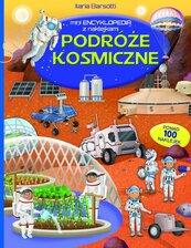 Mini encyklopedia z naklejkami. Podróże kosmiczne