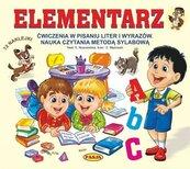 Elementarz ćwiczenia w pisaniu liter i wyrazów