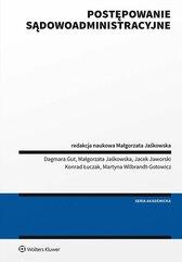 Postępowanie sądowoadministracyjne Jaśkowska podręcznik