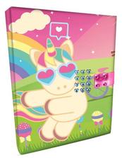 Pamiętnik zamykany na kod, efekty dźwiękowe Sweet Dreams KL10866 Kids Euroswan