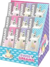 Szczotka do włosów 7x11,5x4,5cm Sweet Dreams KL10871 Kids Euroswan mix cena za 1 szt
