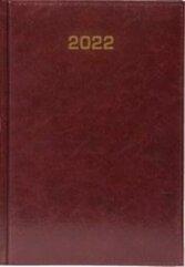 Kalendarz 2022 Dzienny A5 Baladek bordo ANIEW