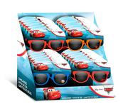 Okulary przeciwsłoneczne 3 wzory Cars. Auta mix WD21556 Kids Euroswan cena za 1 szt
