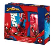 Zestaw Bidon aluminiowy + śniadaniówka Spiderman SP50001 Kids Euroswan