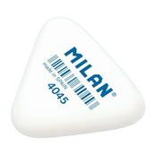 Gumka 4045 trójkątna biała p45 MILAN