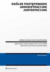 Ogólne postępowanie administracyjne jurysdykcyjne. Podręcznik