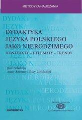 Dydaktyka języka polskiego jako nierodzimego