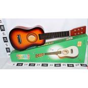 Gitara drewniana w pudełku 1000127