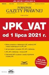 JPK_VAT od 1 lipca 2021