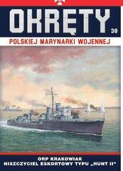 Okręty Polskiej Marynarki Wojennej Tom 38
