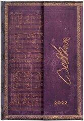 Kalendarz książkowy mini 2022 12M Beethoven