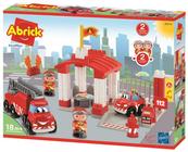 Abrick Remiza strażacka z pojazdami 3014 Ecoiffier