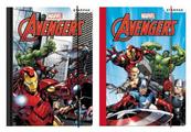 PROMO Teczka z gumką A4 Avengers p10 mix STARPAK, cena za 1szt.