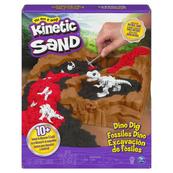 Kinetic Sand Wykopalisko dinozaurów, zestaw piasku kinetycznego z akcesoriami 6055874 p3 Spin Master