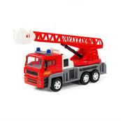 """Polesie 88956 """"Ałmaz"""" samochód strażacki, inercyjny (ze światłem i dźwiękiem) w pudełku"""