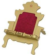 Tron złoty podstawka pod książkę/tablet Throne