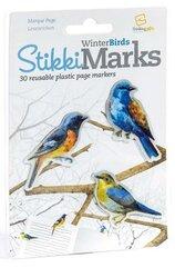 StikkiMarks Winter Birds Zakładki Ptaszki