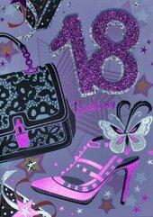 Karnet Przestrzenny B6 Urodziny 18 torebka