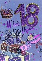Karnet Przestrzenny B6 Urodziny 18 prezenty