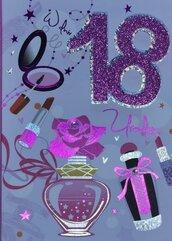 Karnet Przestrzenny B6 Urodziny 18 perfumy