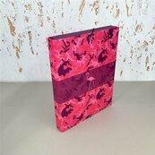 Teczka Box A4 na gumkę Kamuflaż różowy