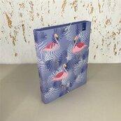 Teczka Box A4 na gumkę Moderno Flamingi