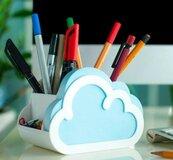 Cloud Notes Organizer na biurko z notesem Chmurka