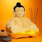 Podstawka pluszowa Budda pod książkę lub tablet