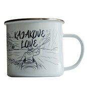 Kubek emaliowany - Kajakove Love