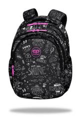 Plecak młodzieżowy - Jerry - B&W scribble Coolpack