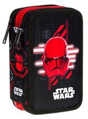 Piórnik potrójny z wyposażeniem Disney - Jumper 3 - Star Wars Coolpack