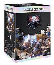Good Loot Puzzle Wiedźmin: Geralt & Triss in Battle 1000 elementów