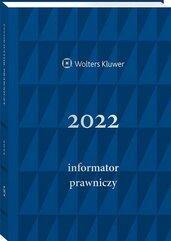 Informator Prawniczy 2022 A5 granatowy